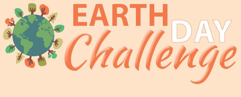earth day challenge logo