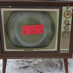 Don't set TVs to the curb. Requires $15 sticker. Bring to drop-off site.