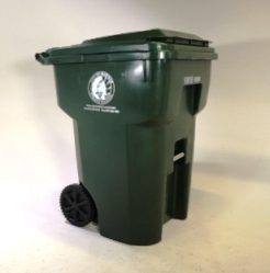 Keep your recyclables clean, dry, and loose in the cart. And only place the correct recyclables inside.