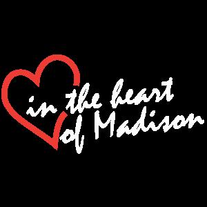 Madison Senior Center logo - in the heart of Madison