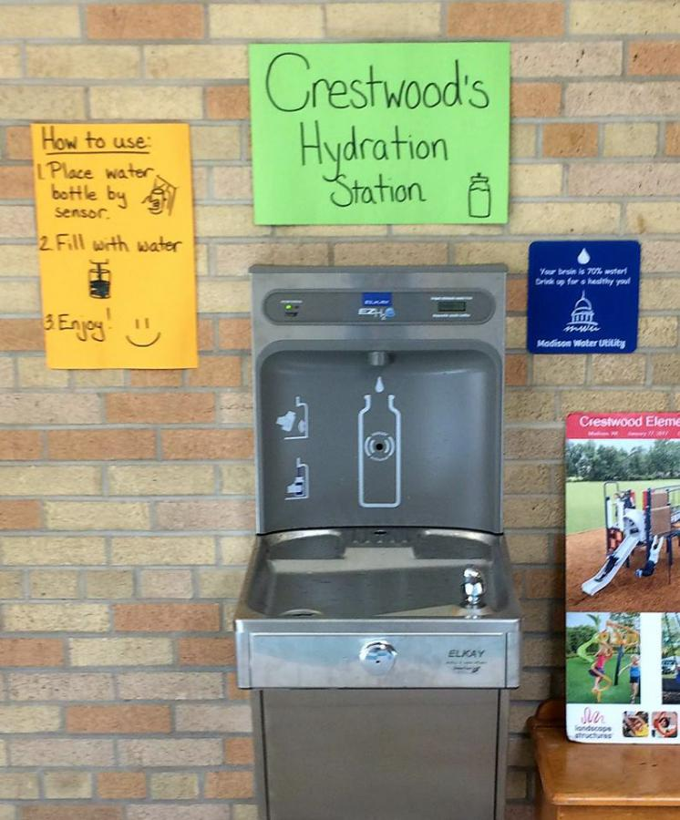 """Got Water?"""" partnership brings hydration stations to half of"""