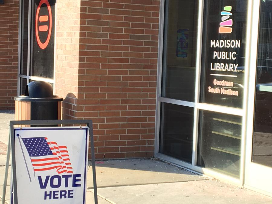 Madisons Central Library Today Heres >> City Of Madison In Person Absentee Voting City Of Madison City Of