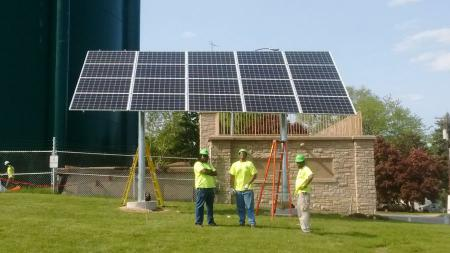 Well 9 PV Installation