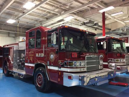 Engine 11 and Engine 12 at Pierce Manufacturing