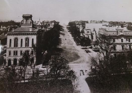 Madison neighborhood in the 1880s