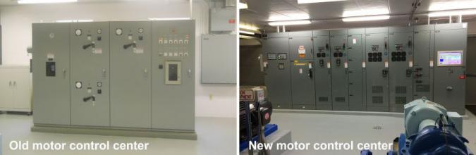motor control cntr before and after