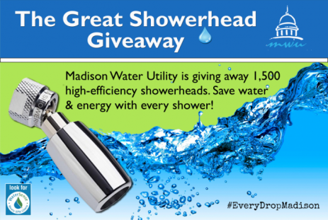 Great Showerhead giveaway promotion image