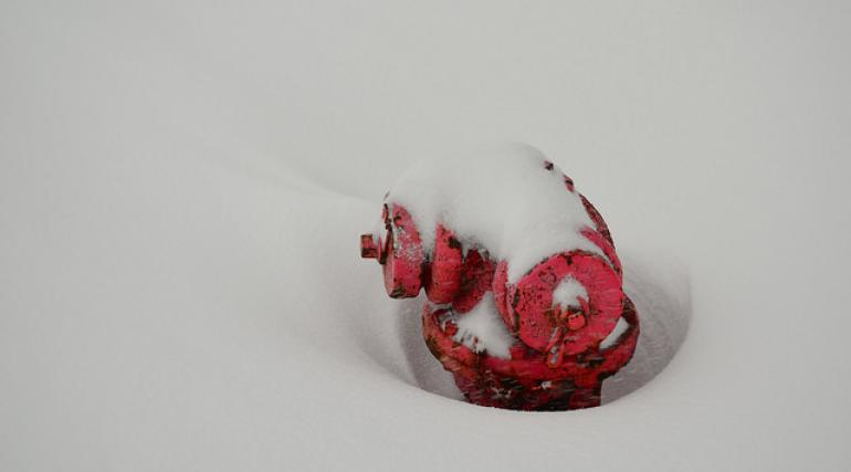 Hydrant in the snow