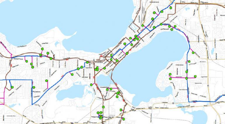 Metropolitan Unified Fiber Network (MUFN) Map