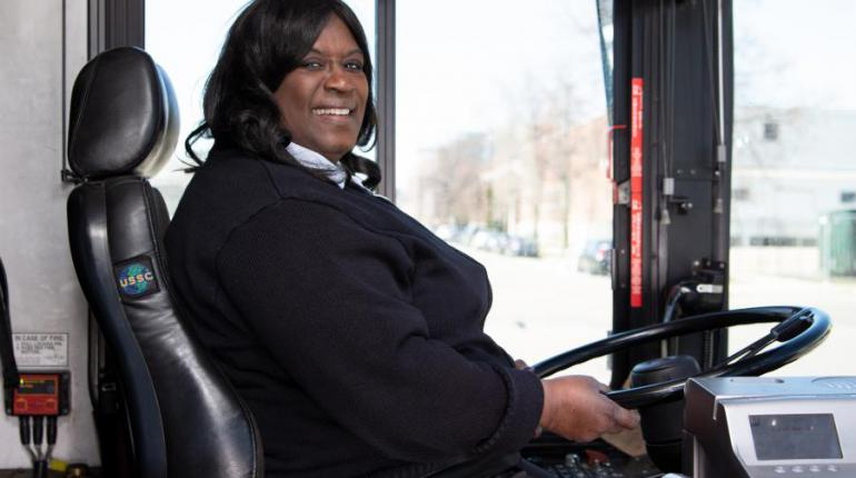 Picture of a Metro Transit driver
