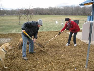 quann dog park cleanup