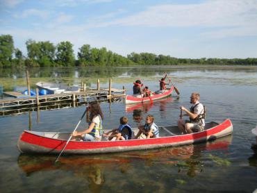learn to canoe