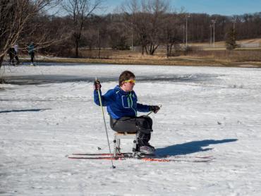 sit ski