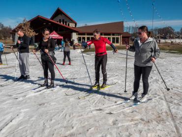 learn to xc ski