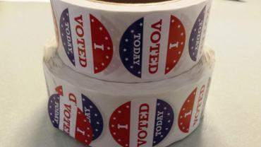 I Voted Stickers