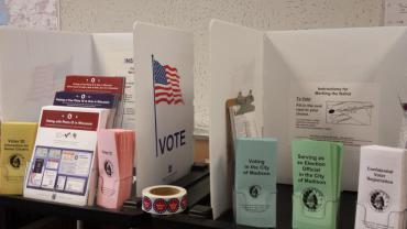Voter ID brochures