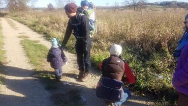 hike at Cherokee Marsh
