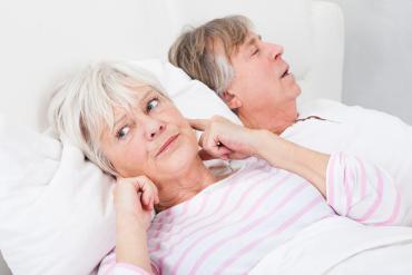Seniors with insomnia