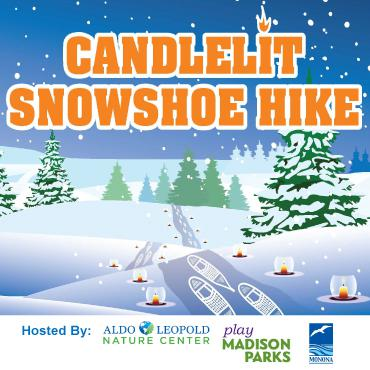 candlelight snowshoe