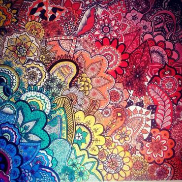 Example of Zentangle art