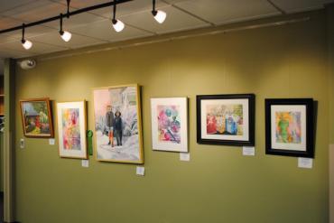 Artful Affair Exhibit