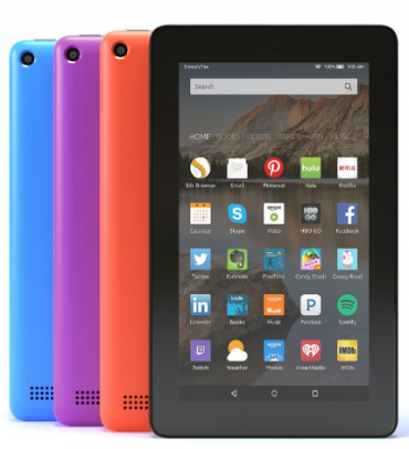 ipads, android tablets and amazon fire