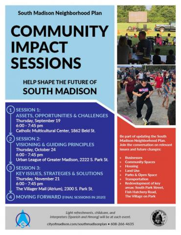 South Madison Community Impact Sessions