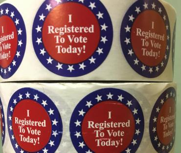 I Registered to Vote Today