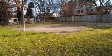 flad park, basketball court 2019