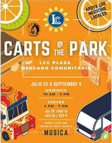 latino plaza community market image