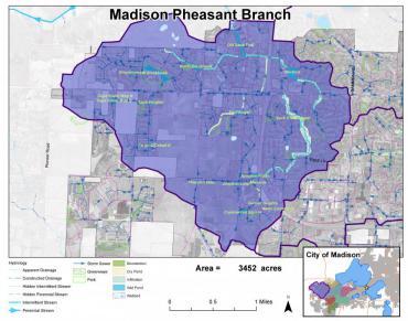 Madison Pheasant Branch Watershed