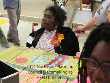 2014 Northside Planning Council Placemaking at FEED Kitchen