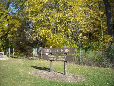 TURVILLE POINT SIGN