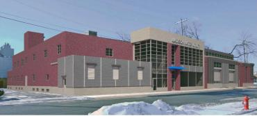 Initial design, Paterson St. Operations Center