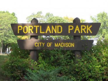portland park sign
