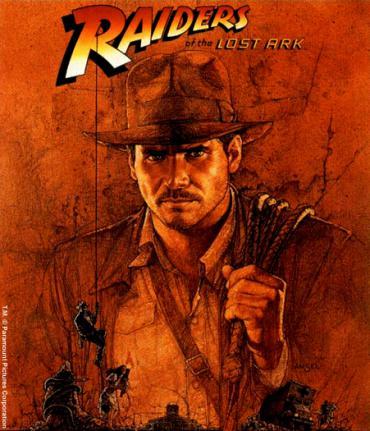 raiders of the lost ark movie promo image