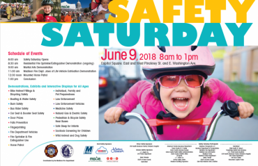 Safety Saturday poster