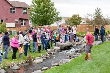 Secret Places Neighborhood Pond Clean Up and Duck Race