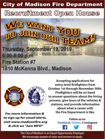 Station 7 open house flyer