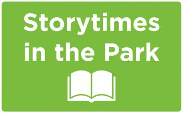 storytime in the park logo