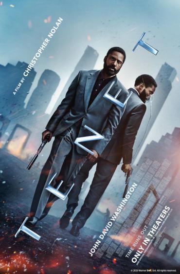 Tenet movie promo image
