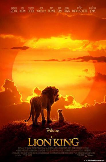 The Lion King movie promo image