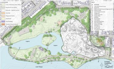 map of vilas park today