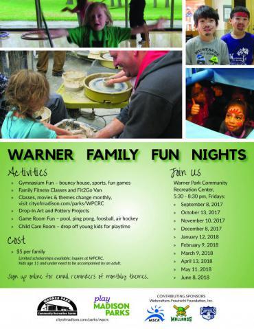 Warner Family Fun Nights