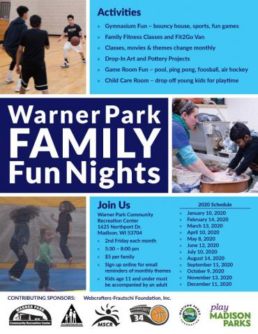 Warner Park Family Fun Night