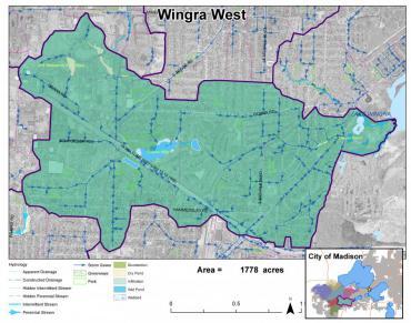 Wingra West Watershed