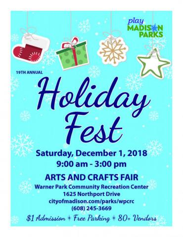 HolidayFest Arts & Crafts Fair
