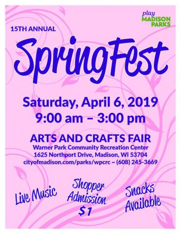 SpringFest Arts & Crafts Fair