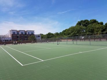 completed sport court