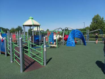 inclusive playground at elver park